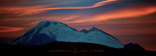 Mount Baker Clouds